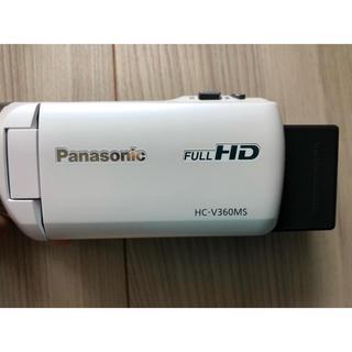 Panasonic - ビデオカメラ HC-V360MS-W