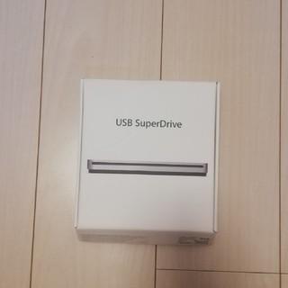 アップル(Apple)のapple USB SuperDrive(DVDプレーヤー)