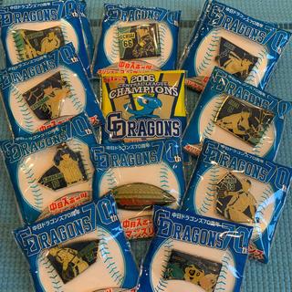 チュウニチドラゴンズ(中日ドラゴンズ)のピンバッジ 中日ドラゴンズ 11種類(記念品/関連グッズ)