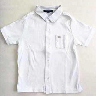 BURBERRY - バーバリー シャツ 半袖 110 白 キッズ フォーマル ノバチェック