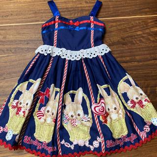 Shirley Temple - シャーリーテンプル 110 ジャンパースカート