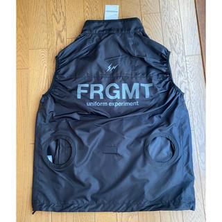 FRAGMENT - uniform experiment  BURTLE VEST FRAGMENT