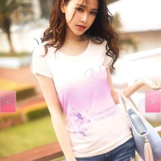 レディー(Rady)のRady グラデーションTシャツ(Tシャツ(半袖/袖なし))
