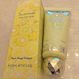 JILLSTUART - ジル☆未使用スクラブ洗顔☆フルーティフルーツの香り