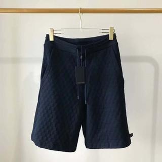ルイヴィトン(LOUIS VUITTON)の【Louis Vuitton】ダミエショーツ メンズ コットン(ショートパンツ)