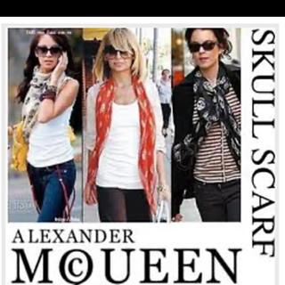 アレキサンダーマックイーン(Alexander McQueen)のお買得品❗アレキサンダーマックイーン スカーフ❗(バンダナ/スカーフ)
