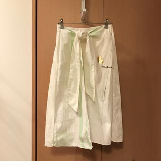 bulle de savon - bulle de savon 箔プリントスカート ambidex