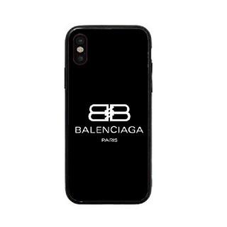 バレンシアガ(Balenciaga)のバレンシアガ ガラスケース iPhoneケース rmlu3h(iPhoneケース)