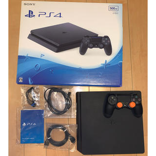 PlayStation4 - PS4 Jet Black 500GB (本体型番CUH-2000A)