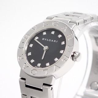 ブルガリ(BVLGARI)の【BVLGARI】ブルガリ腕時計 'ダイヤモンド' ロゴ有り後期モデル ☆美品☆(腕時計)