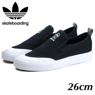 アディダス(adidas)のadidas skateboarding MATCHCOURT F37387 (スリッポン/モカシン)