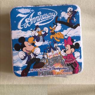 ディズニー(Disney)の香港 ディズニーリゾート 圧縮 ミニタオル 新品(ハンカチ)