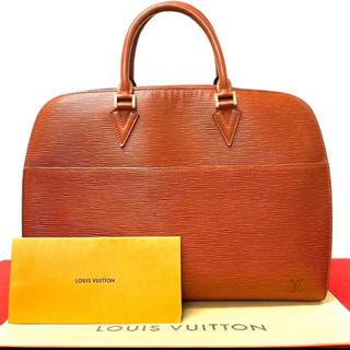 ルイヴィトン(LOUIS VUITTON)の極上 美品 ヴィトン ルイヴィトン エピ ビジネス ハンドバッグ ブラウン(ビジネスバッグ)