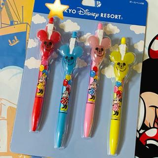 Disney - ディズニーボールペン♡赤