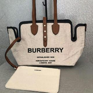 BURBERRY - バーバリートートバッグ ハンドバッグ 大容量
