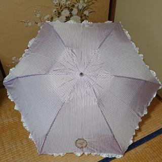 ラデュレ(LADUREE)の美品‼️ LADUREE  ラデュレ 日傘 パープル 雨天兼用(傘)