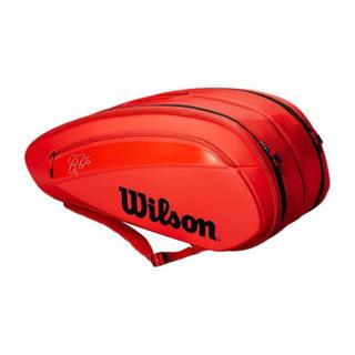 ウィルソン(wilson)のWilson ラケットバッグ フェデラー 12本入(バッグ)