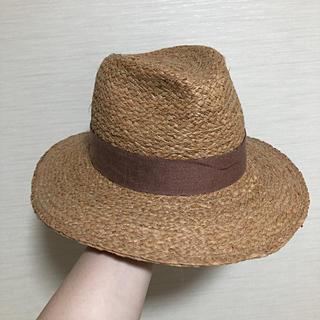 ZARA - 美品 ZARA 麦わら帽子 ラフィア素材 ハット