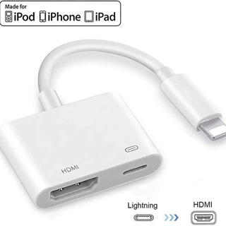iPhone Lightning HDMI変換ケーブル iPad