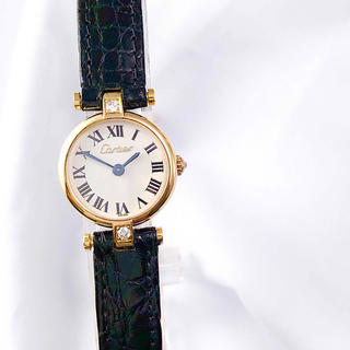 Cartier - 【仕上済】カルティエ ヴァンドーム ミニ K18 純正ダイヤ レディース 時計