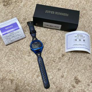 セイコー(SEIKO)のSEIKO スーパーランナーズ ランニングウォッチ(腕時計(デジタル))