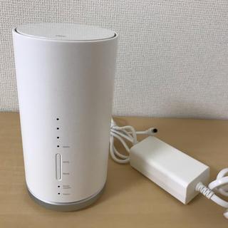 エーユー(au)のSpeed wi-Fi HOME  L01 au インターネット(PC周辺機器)