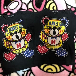 ヒステリックミニ(HYSTERIC MINI)の専用💛べあてぃーしゃつ(Tシャツ/カットソー)