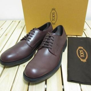 トッズ(TOD'S)のTOD'S 新品 レザーシューズ ドレスシューズ バーガンディ 革靴 29cm(ドレス/ビジネス)