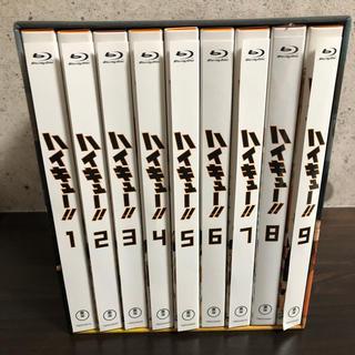集英社 - ハイキュー 全9巻セット  初回生産限定版 Blu-ray 収納 BOX付き