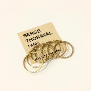 H.P.FRANCE - SERGE THORAVAL 7連リング セルジュトラヴァル 接吻 ゴールド