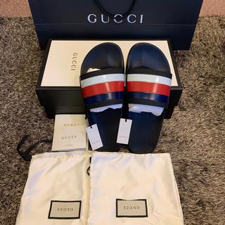 Gucci - 新品未使用◇GUCCI グッチ ラバースライド シャワーサンダル 国内正規品