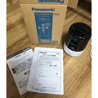 パナソニック(Panasonic)のパナソニック ペットカメラ 自動追尾機能搭載 KX-HDN205-K(防犯カメラ)