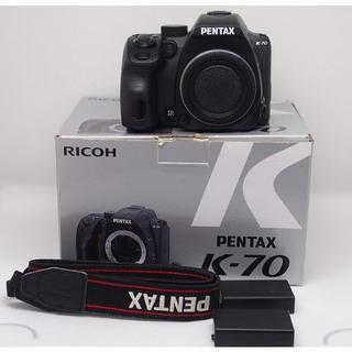 PENTAX - PENTAX K-70 予備電池付き