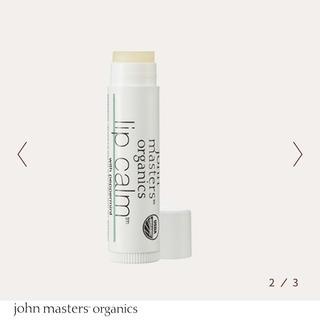 ジョンマスターオーガニック(John Masters Organics)の《新品》リップカーム(リップケア/リップクリーム)
