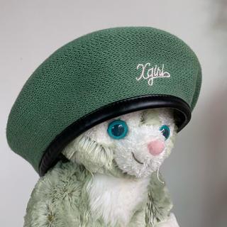 X-girl - エックスガール ベレー帽