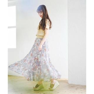 COCO DEAL - ❣️CoCoDeal20春夏新作ボタニカルプリーツスカート