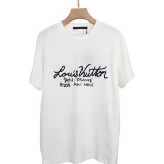 LOUIS VUITTON - LOUIS VUITTON ロゴT シャツ  S