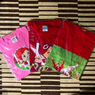 ヒロシマトウヨウカープ(広島東洋カープ)の広島東洋カープ 女の子Tシャツ(応援グッズ)