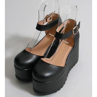WEGO - ウィゴーWEGO厚底セパレート靴シューズ量産型