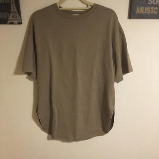 GU - GU オーバーTシャツ L