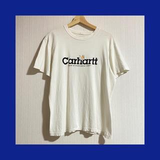 carhartt - carhartt*ロゴTシャツ 白 ホワイト 白T
