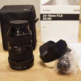 SIGMA - SIGMAのArt 24-70mm F2.8 DG DN ソニーEマウント