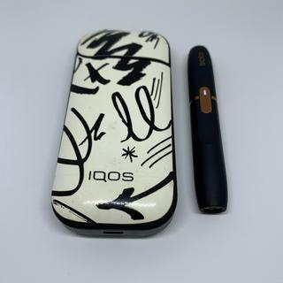 IQOS - 通電確認済 iQOS アイコス 2.4Plus ネイビー カスタム