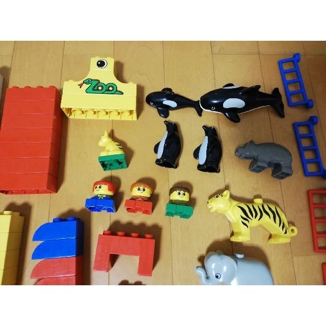 Lego(レゴ)の値下げ!レゴ デュプロ たのしいしいどうぶつえん 2356 キッズ/ベビー/マタニティのおもちゃ(積み木/ブロック)の商品写真