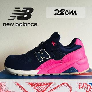 New Balance - 新品 ニューバランス MRT580UP ネイビー ピンク 28cm Y-4