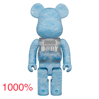 MEDICOM TOY - MY FIRST BE@RBRICK WATER CREST Ver.1000%