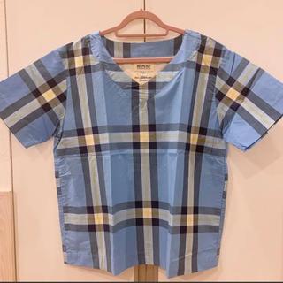 ビームスボーイ(BEAMS BOY)のBEAMS BOY 半袖チェックカットソー(シャツ/ブラウス(半袖/袖なし))