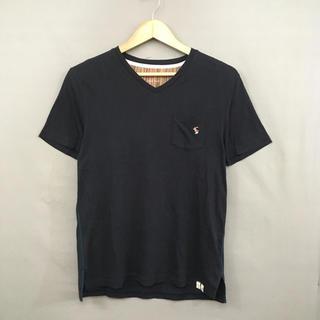 Paul Smith - ポールスミス 半袖 VネックTシャツ 胸ポケット付き うさぎロゴ刺繍 メンズ M