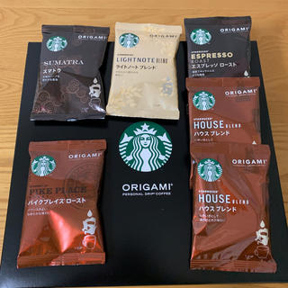 Starbucks Coffee - STARBUCKS レギュラーコーヒー オリガミ  6袋