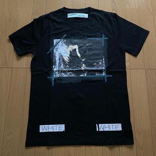 OFF-WHITE - Off white オフホワイト ブラック Tシャツ M